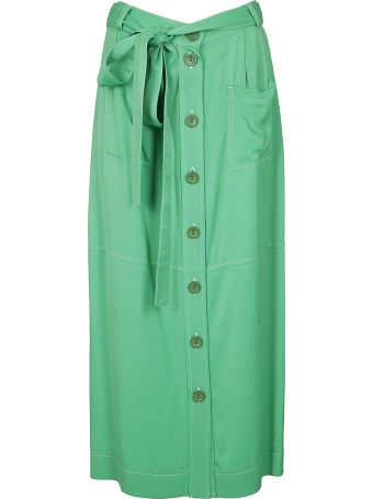 See by Chloé Button Up Skirt