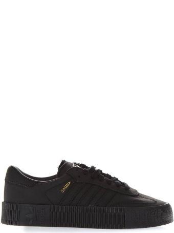 Adidas Originals Samba Black Leather Sneakers