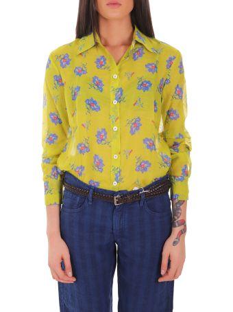 Massimo Alba Green Mias2 Shirt