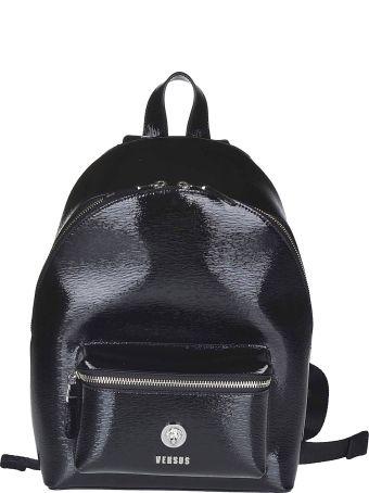 Versus Versace Logo Plaque Backpack