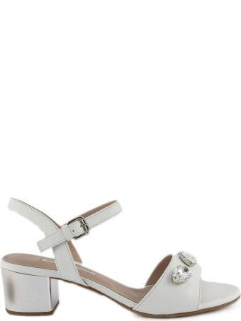 Roberto Festa Ciclamino Sandal In White Leather
