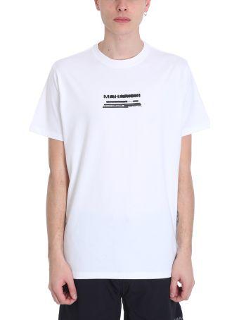 Maharishi White Cotton T-shirt