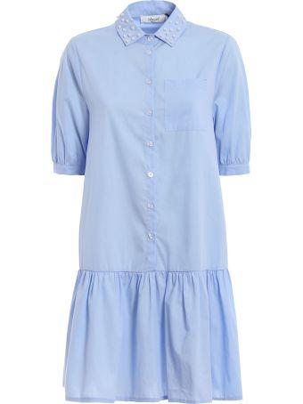 Blugirl Pearl Studded Dress