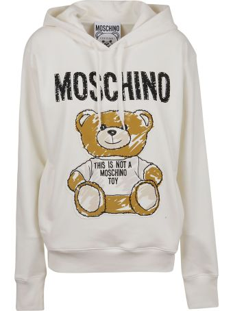 Moschino Fitted Hoodie