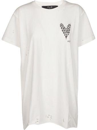 Marc Jacques Burton Heart Print T-shirt