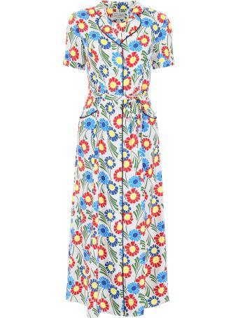 HVN Maria Silk Dress