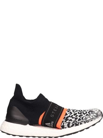 Adidas by Stella McCartney Black Technical Fabric Ultra Boost X 3 Sneakers