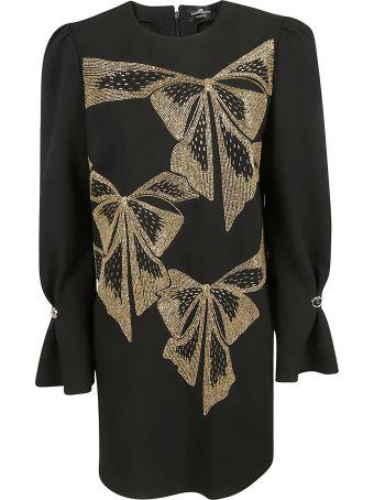 Elisabetta Franchi Celyn B. Bow Print Dress
