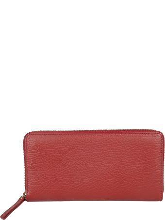 Maison Margiela Textured Zip Around Wallet