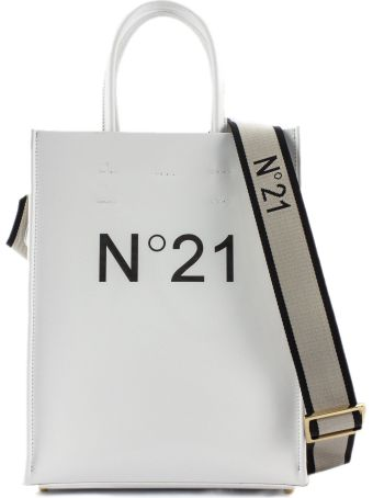 N.21 White Shopper Bag