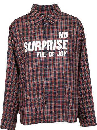 SJYP Check Pattern Shirt