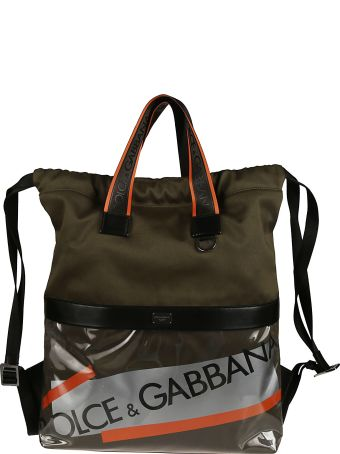 Dolce & Gabbana Street Logo Tape Backpack