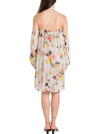 SEMICOUTURE Floral Dress In Georgette