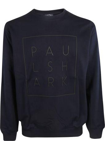 Paul&Shark Paul & Shark Logo Print Sweatshirt