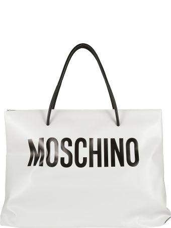 Moschino Logo Print Shopper Bag