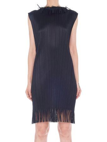 Pleats Please Issey Miyake 'chambray' Dress