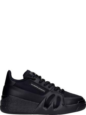 Giuseppe Zanotti Tallon Sneakers In Black Tech/synthetic