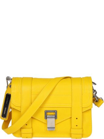 Proenza Schouler Shoulder Bag Ps1 Mini In Leather Color Yellow