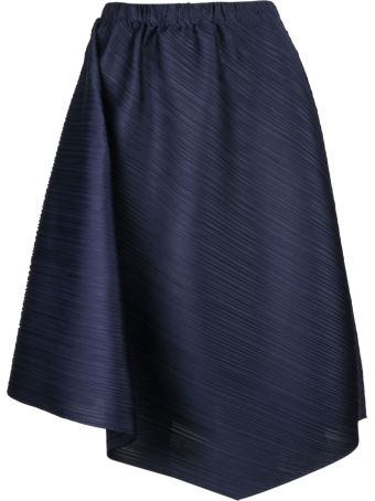 Pleats Please Issey Miyake Pleats Please By Issey Miyake Pleated Midi Skirt