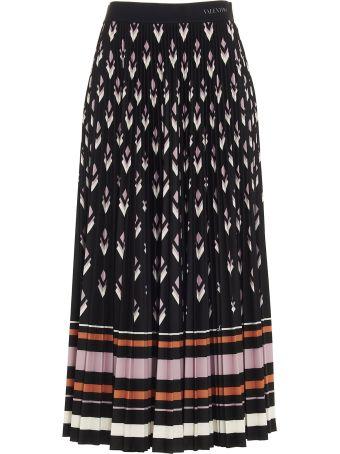 Valentino 'v Logo Remake' Skirt
