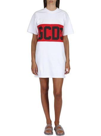 GCDS Band Logo Tee Dress