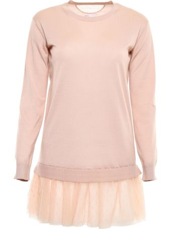 RED Valentino Pullover With Tulle