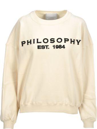 Philosophy di Lorenzo Serafini Philosophy Felpa Logo