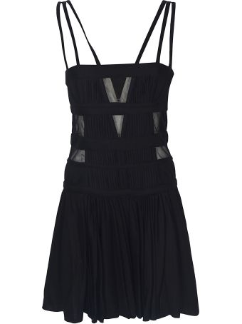 Giovanni Bedin Tulle Tank Strap Mini Dress