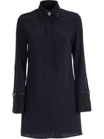 Victoria Victoria Beckham Victoria, Victoria Beckham Embroidered Shirt Dress