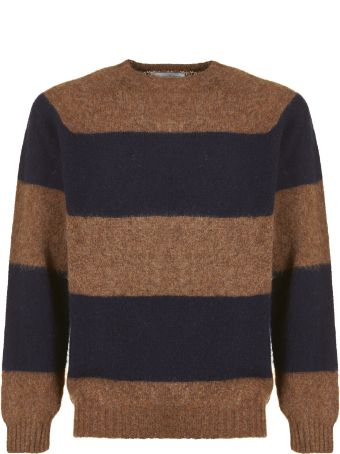 Officine Générale Striped Knit Sweater