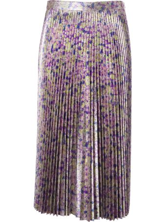 Stella McCartney Floral Pleated Skirt
