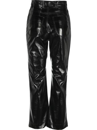 Philosophy di Lorenzo Serafini Philosophy Polished-effect Cropped Trousers
