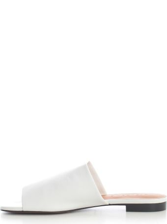 Clergerie Low Open Toe Slippers Nappa
