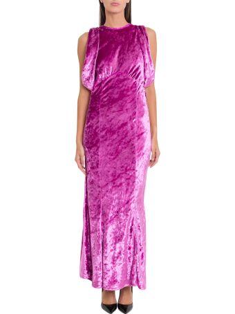 ATTICO Velvet Mermaid Dress
