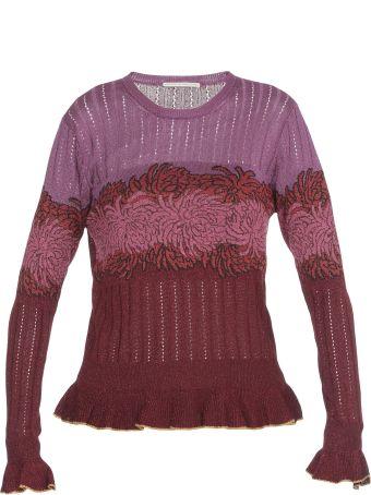Marco de Vincenzo Lurex Fabric Sweater
