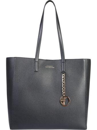 Versace Collection Tote Bag With Medusa Charm