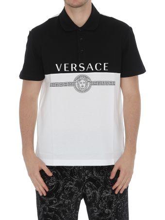 Versace Polo With Logo