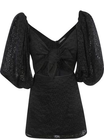 WANDERING Perforated Dress