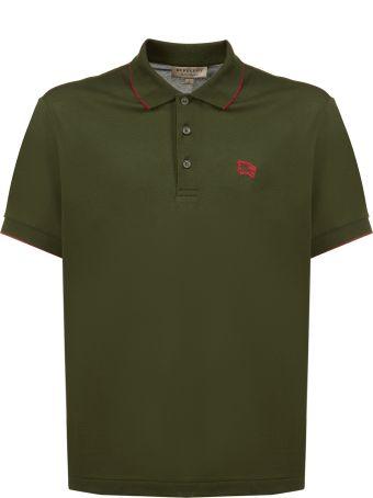 Burberry Chest Logo Polo Shirt
