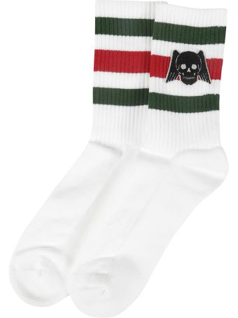 Gucci Winged Skull Socks