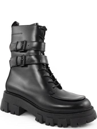 Ash Black Lars Ankle Boots