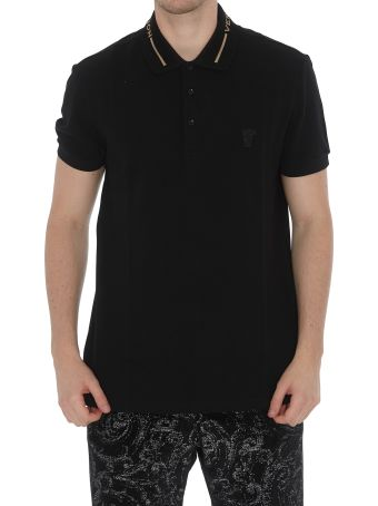 Versace Collection Logo Collar Polo
