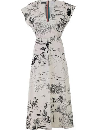 Paul Smith Sketch Print Dress
