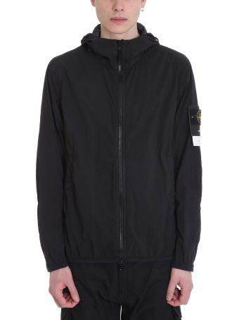 Stone Island Black Nylon Jacket