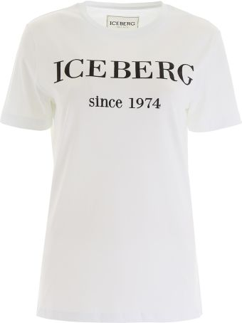 Iceberg T-shirt With Logo Embroidery