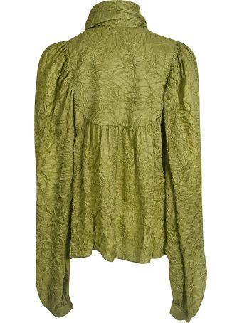 Rochas All-over Wrinkled Shirt