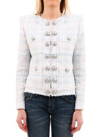 Balmain Tweed Jacket Pastel