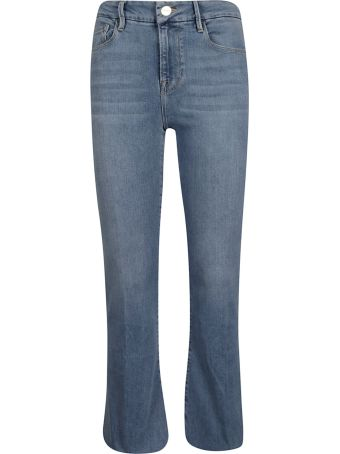 Frame Cropped Mini Boot Jeans