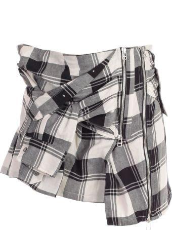 Faith Connexion Checked Skirt