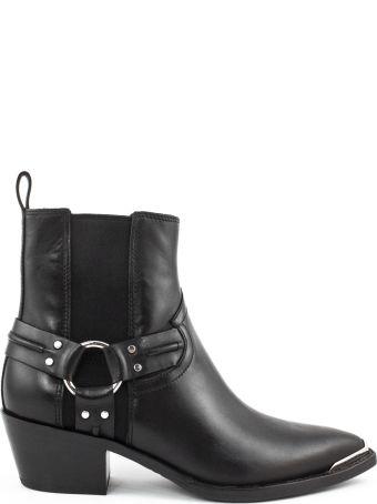 Ash Black Dusty Boot